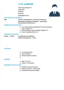 Modelo De Curriculum Vitae Sin Experiencia Laboral